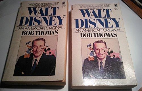 9780671662325: Walt Disney: An American Original