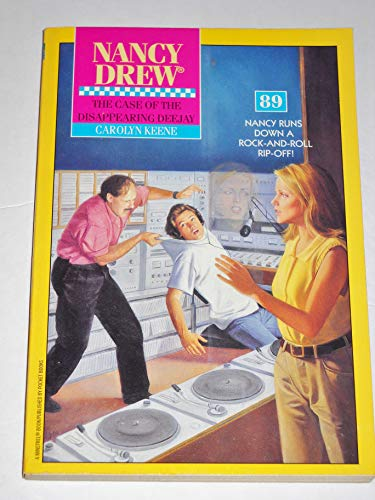 9780671663148: The Case of the Disappearing Deejay (Nancy Drew No. 89)