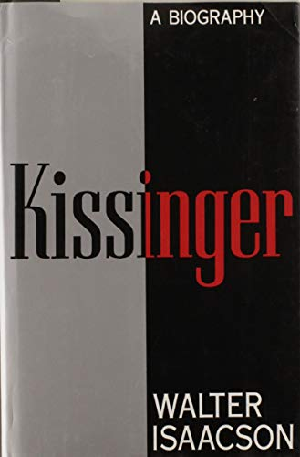 9780671663230: Kissinger: A Biography