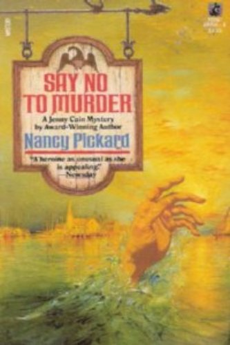 9780671663964: Say No to Murder (Jenny Cain Mysteries, No. 2)