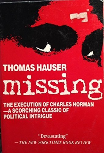 9780671664329: Missing: The Execution of Charles Horman