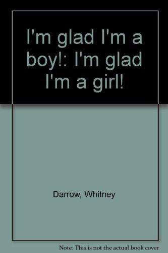 9780671665289: I'm glad I'm a boy!: I'm glad I'm a girl!