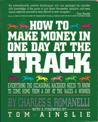 9780671666521: How to Make Money in One Day at the Track