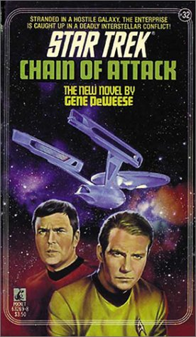 9780671666583: Chain of Attack (Star Trek, No 32)