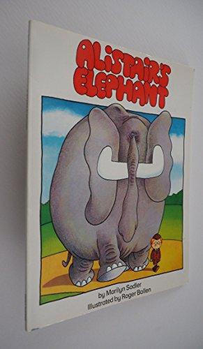 9780671666811: Alistair's Elephant