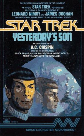 9780671668655: STAR TREK YESTERDAY'S SON (Star Trek: The Original Series)