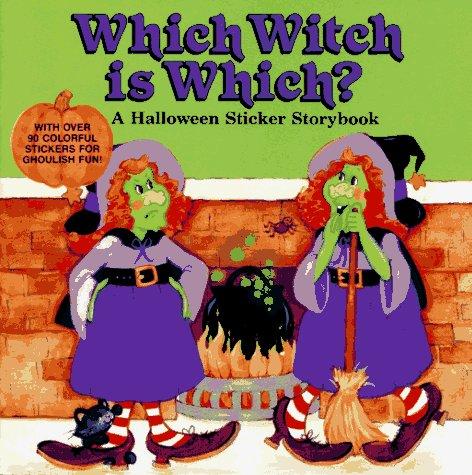 Which Witch Is Which? A Halloween Sticker Storybook: Greenberg, Rhonda Chalek