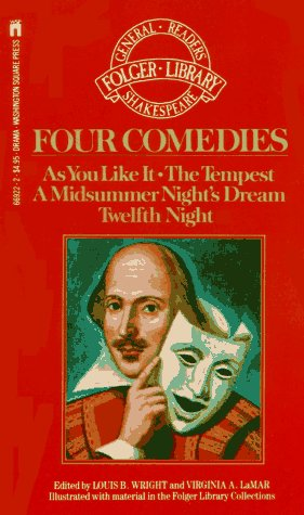 9780671669225: Four Comedies (The New Folger Library Shakespeare)