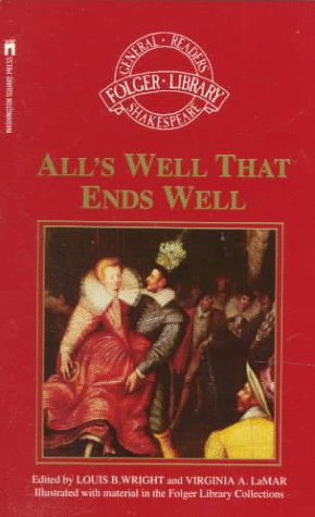 9780671669232: All's Well That Ends Well (Folger Library General Reader's Shakespeare)