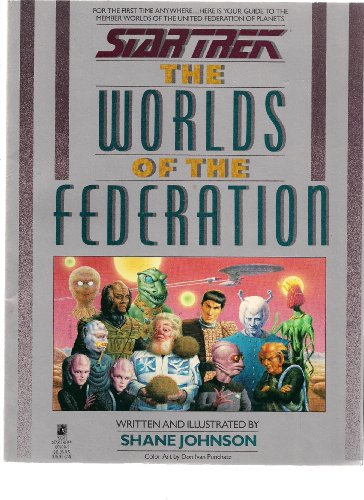 Star Trek: The Worlds of the Federation (0671669893) by Shane Johnson