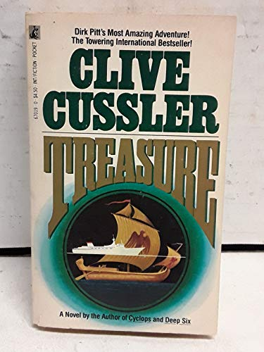 9780671670191: Treasure-Cussler X