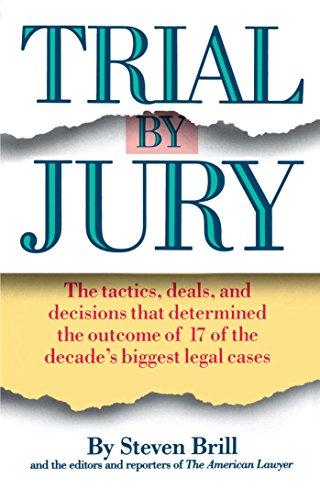 Trial by Jury: Brill, Steven