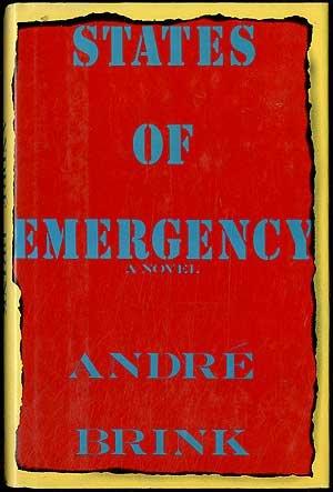 9780671671556: States of Emergency