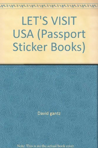 9780671672126: Let's Visit the United States (Passport Sticker Books)