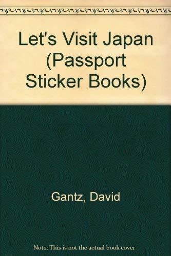 9780671672157: LET'S VISIT JAPAN (Passport Sticker Books)