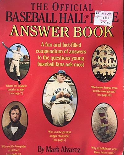 9780671673772: Baseball Hall of Fame Answer Book