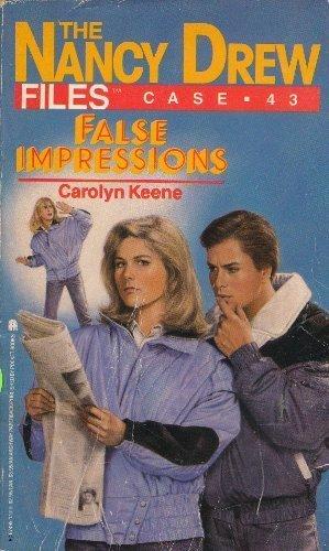 9780671674953: False Impressions (Nancy Drew Files, Case No. 43)