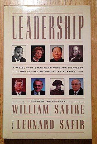 Leadership: Safire, William, Safir,