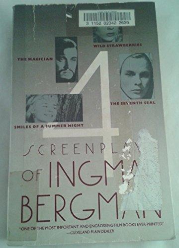 9780671678333: Four Screenplays of Ingmar Bergman (English and Swedish Edition)