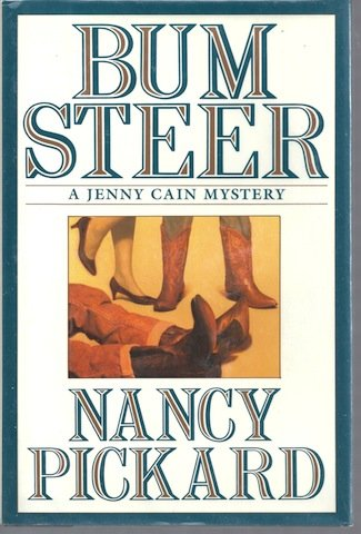 9780671680404: Bum Steer (Jenny Cain Mysteries, No. 6)