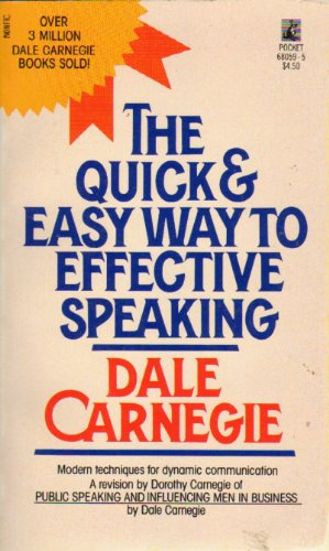 9780671680596: The Quick and Easy Way to Effective Speaking