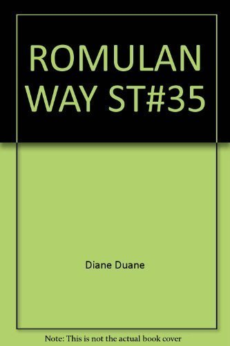 9780671680855: The Romulan Way (Star Trek RIHANNSU)