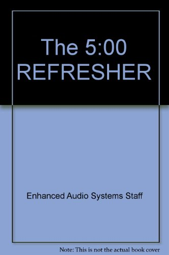 9780671681159: The 5:00 REFRESHER