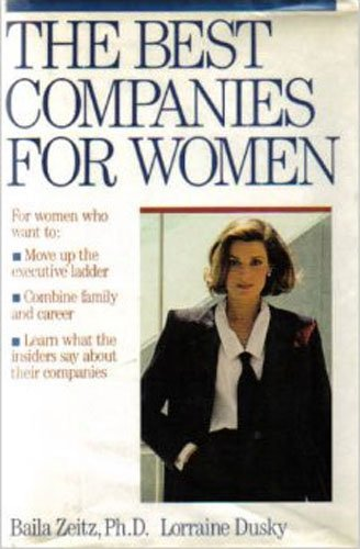 9780671682927: The BEST COMPANIES FOR WOMEN