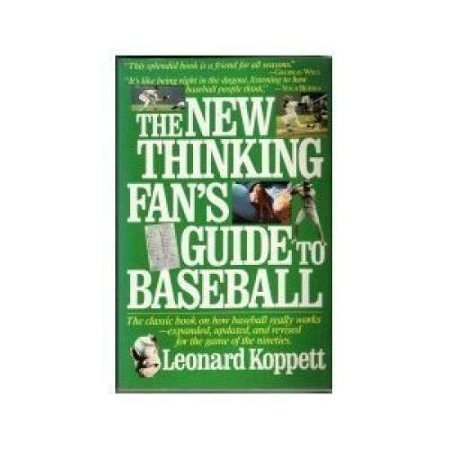 9780671683306: New Thinking Fan's Guide to Baseball