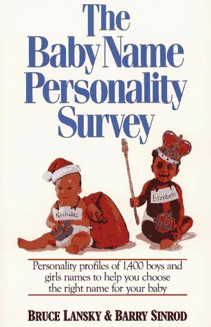 9780671683825: Baby Name Personality Book