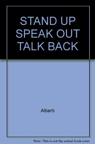 9780671684051: Stand Up Speak Out Talk Back