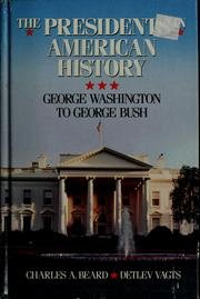 9780671685744: Charles A. Beard's the presidents in American history: George Washington to George Bush