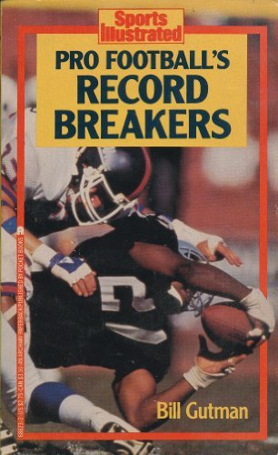 9780671686239: Sports Illustrated: Pro Football's Record Breakers