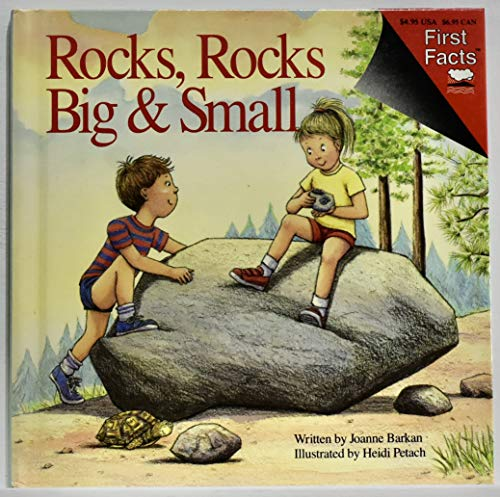 9780671686604: Rocks, rocks big & small (First facts)