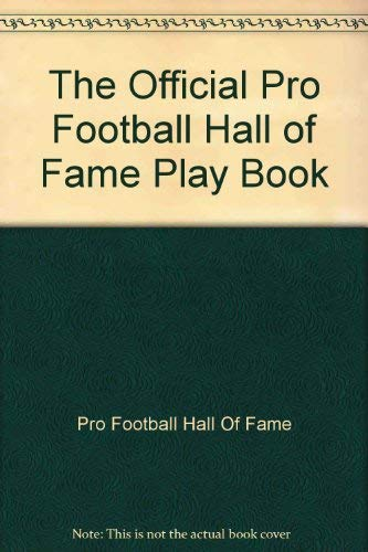 9780671686987: FOOTBALL HALL OF FAME PLAY BOOK