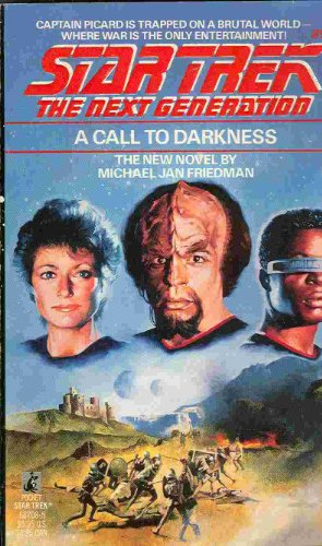9780671687083: A Call to Darkness (Star Trek The Next Generation, Book 9)