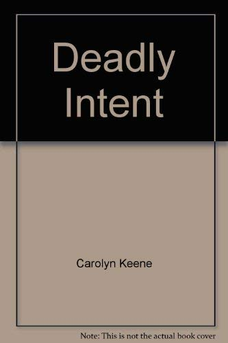 9780671687274: Deadly Intent