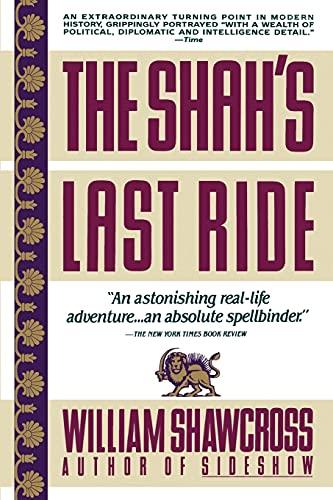 9780671687458: The Shah's Last Ride