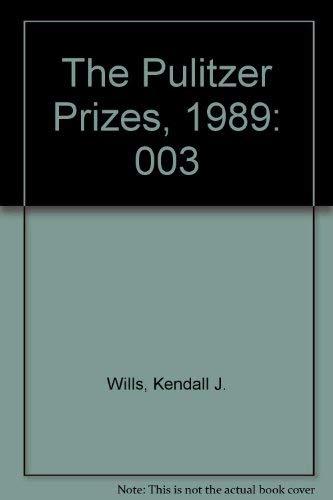 9780671687489: The Pulitzer Prizes, 1989