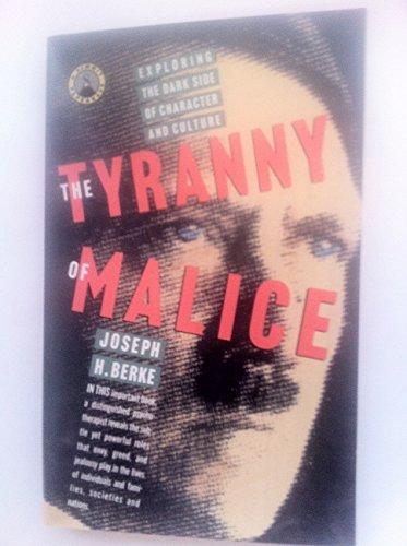 9780671687502: Tyranny of Malice