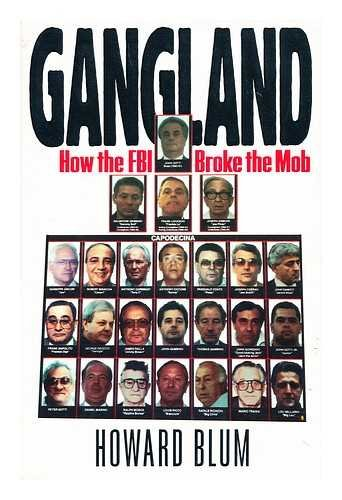 9780671687588: Gangland: How the FBI Broke the Mob