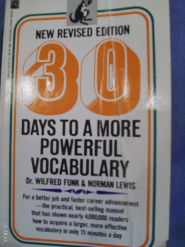 9780671688639: 30 Days to a More Powerful Vocabulary