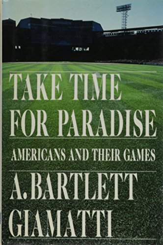 9780671691301: Take Time for Paradise: Americans and Their Games