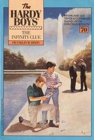 9780671691547: Infinity Clue (The Hardy Boys #70)