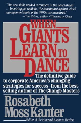 9780671696252: When Giants Learn To Dance