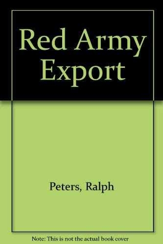 9780671701215: Red Army Export