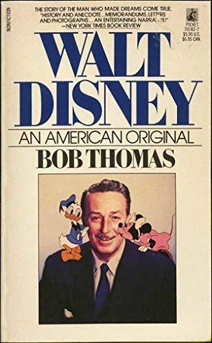 9780671701826: Walt Disney: An American Original