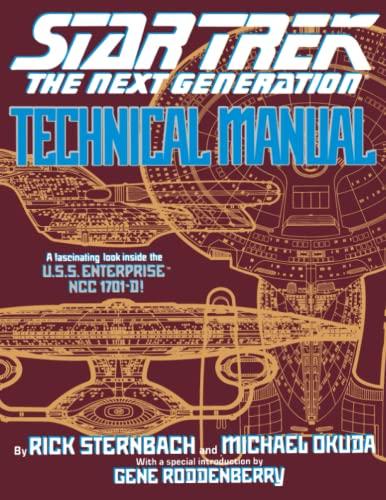 9780671704278: Star Trek The Next Generation: Technical Manual