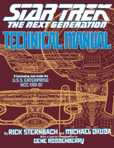 Star Trek The Next Generation: Technical Manual (0671704273) by Rick Sternbach; Michael Okuda
