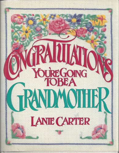9780671704315: Congratulations!: You're Going to Be a Grandmother